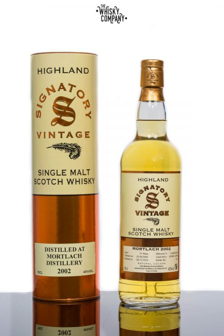 Mortlach 2002 Aged 14 Years Single Malt Scotch Whisky - Signatory Vintage (700ml)