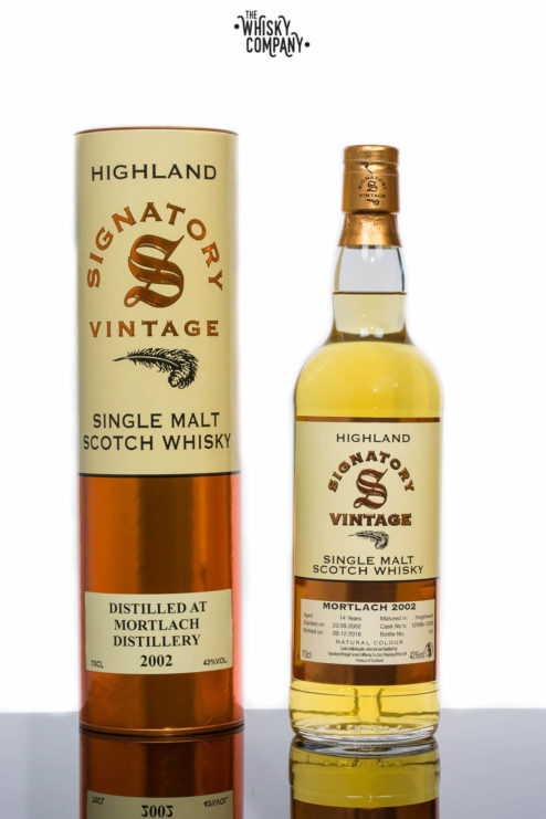 Mortlach 2002 Aged 14 Years - Signatory Vintage
