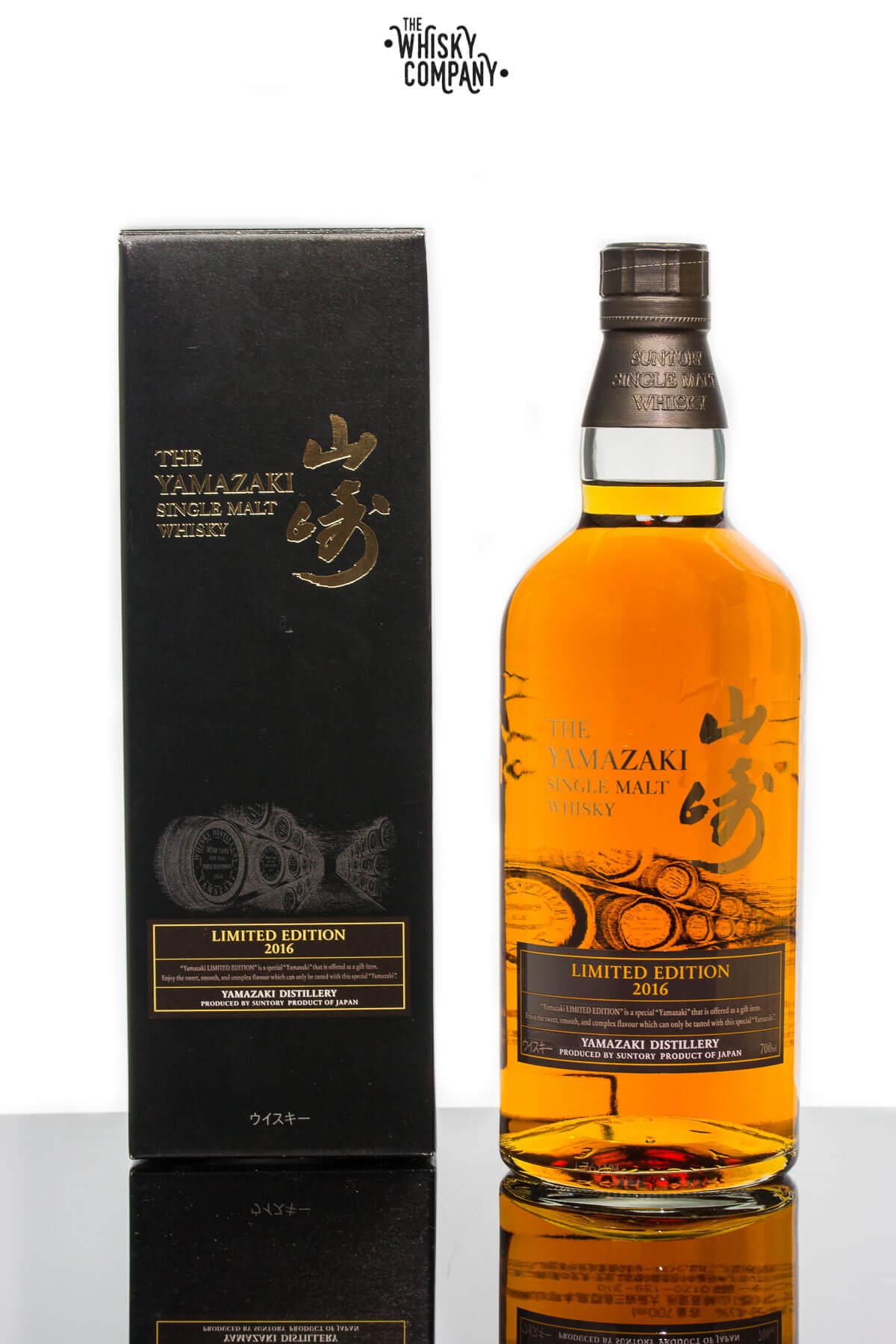 Yamazaki 2016 Limited Edition Japanese Single Malt Whisky
