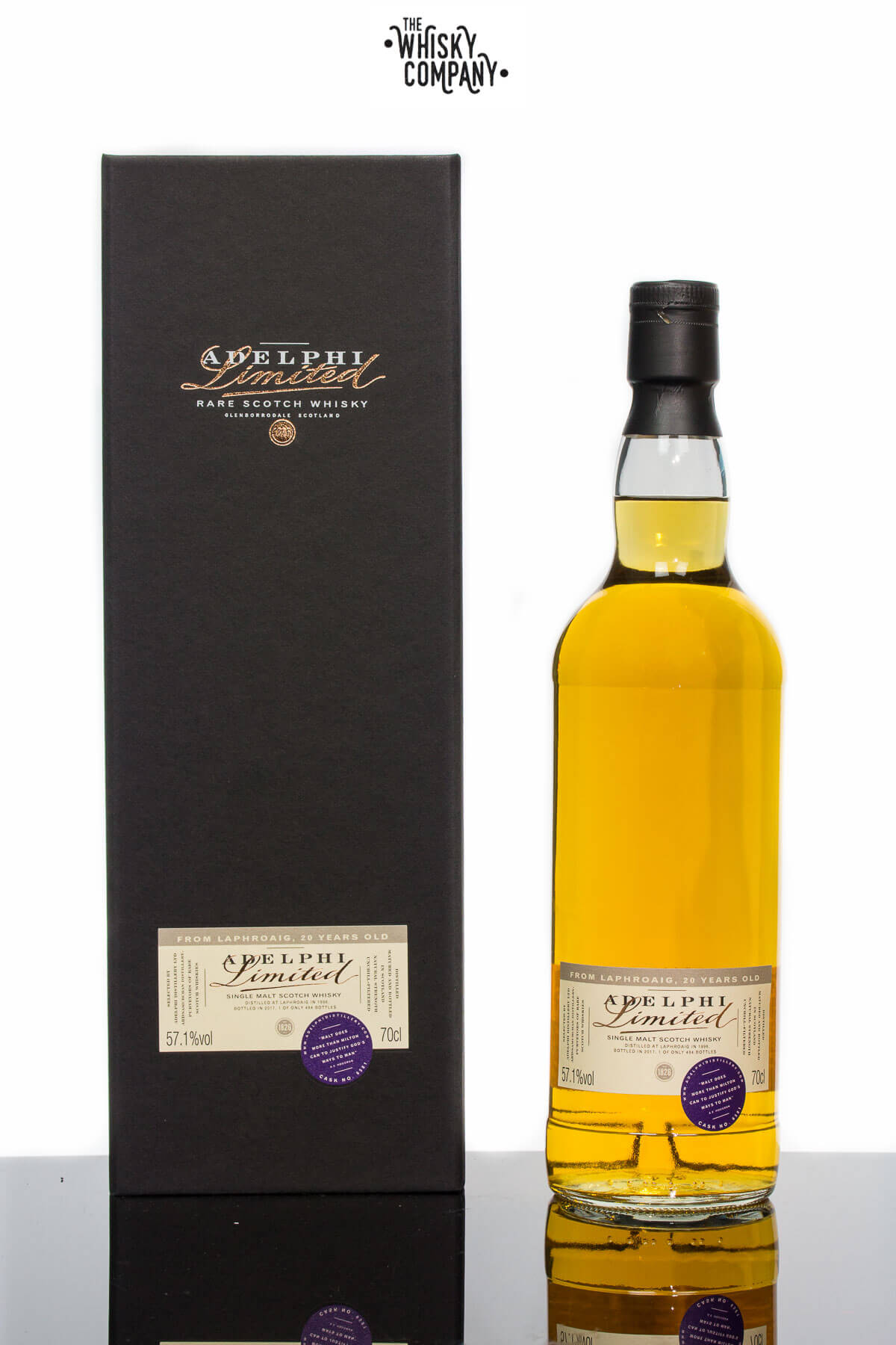 Adelphi 1996 Laphroaig 20 Years Old Cask 6581 Islay Single Malt Scotch Whisky