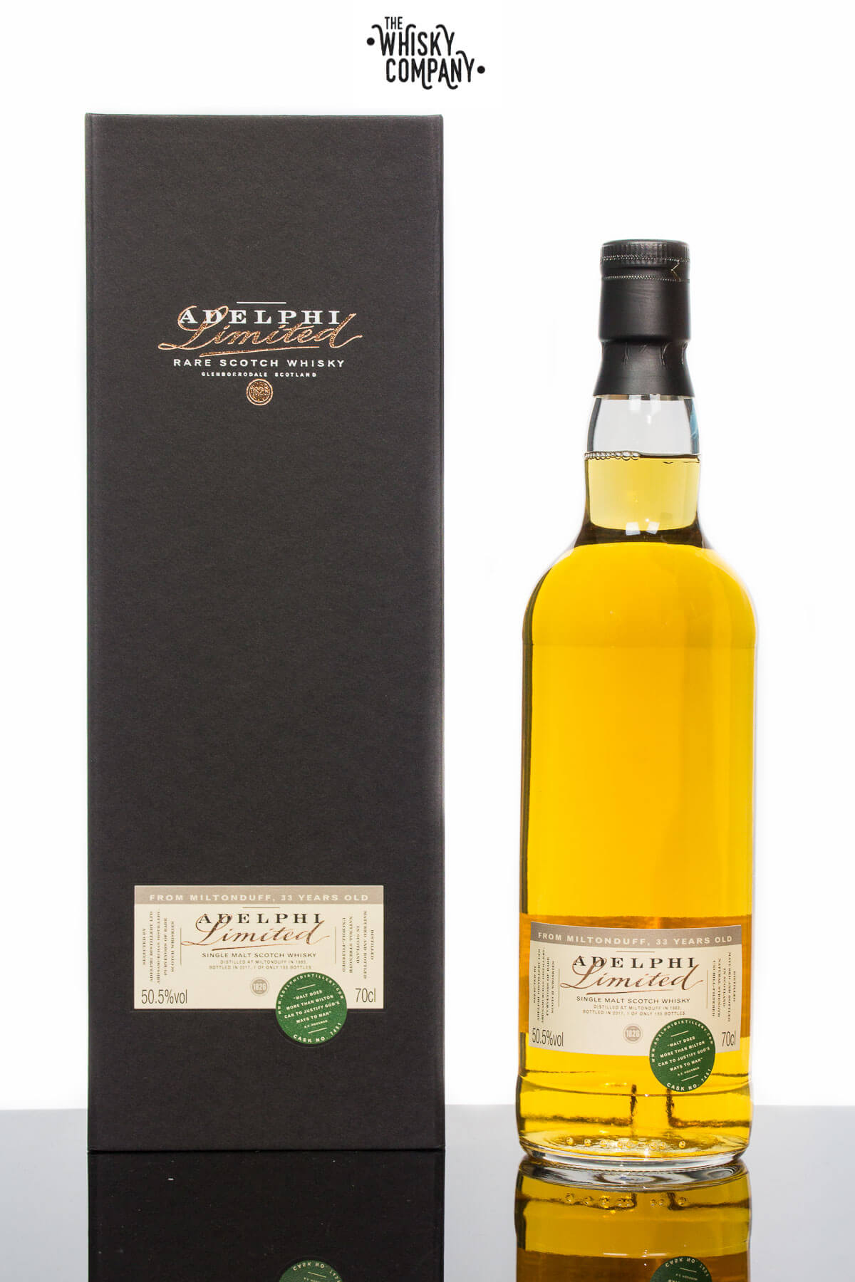Miltonduff 33 Years Old 1983 (Cask 7451) Speyside Scotch Whisky (Adelphi) (700ml)
