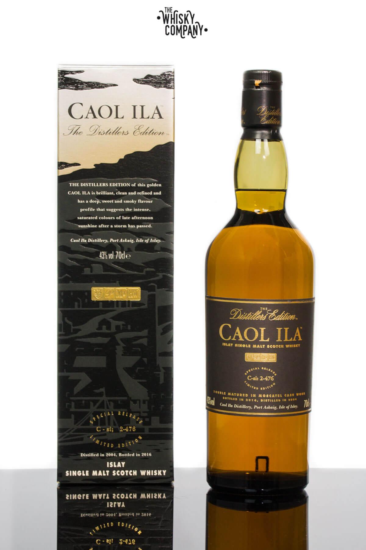 Caol Ila 2004 Distillers Edition Islay Single Malt Scotch Whisky (700ml)