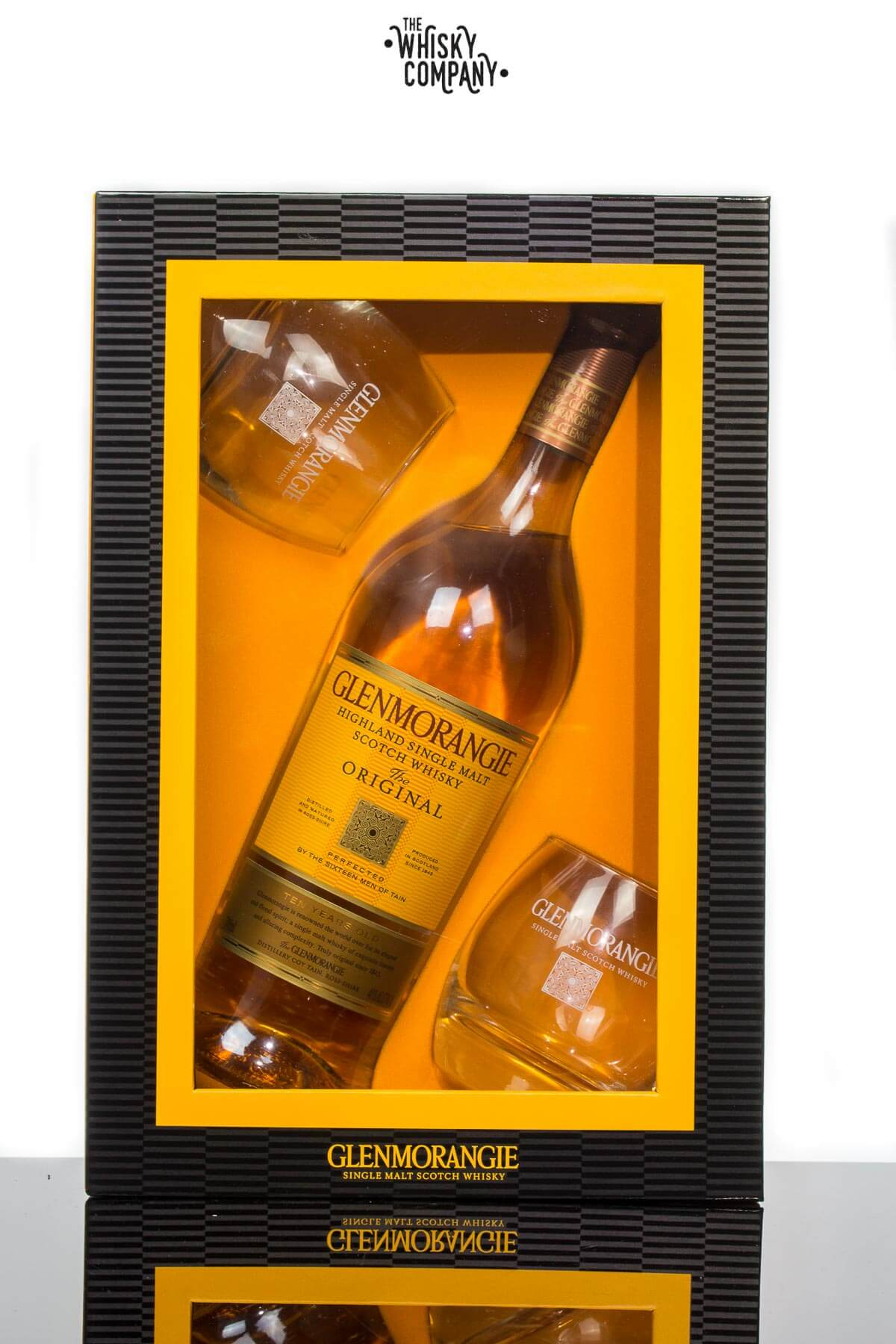 Glenmorangie The Original 10 Years Old Highland Single Malt Scotch Whisky Gift Pack