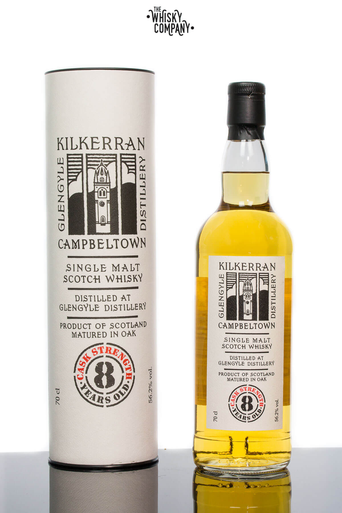 Kilkerran Aged 8 Years Cask Strength Campbeltown Single Malt Scotch Whisky