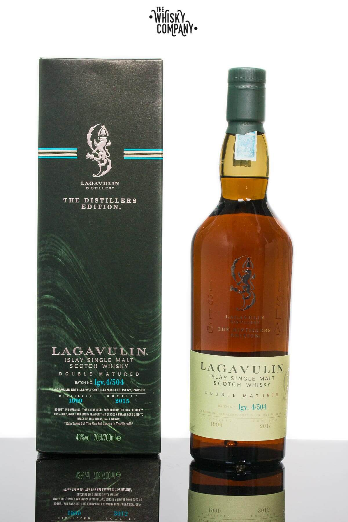 Lagavulin 1999 Distillers edition Islay Single Malt Scotch Whisky