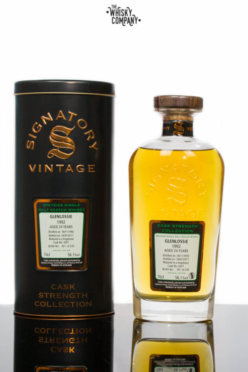 Glenlossie 1992 Aged 24 Years Old (cask 3457) Single Malt Scotch Whisky - Signatory Vintage (700ml)