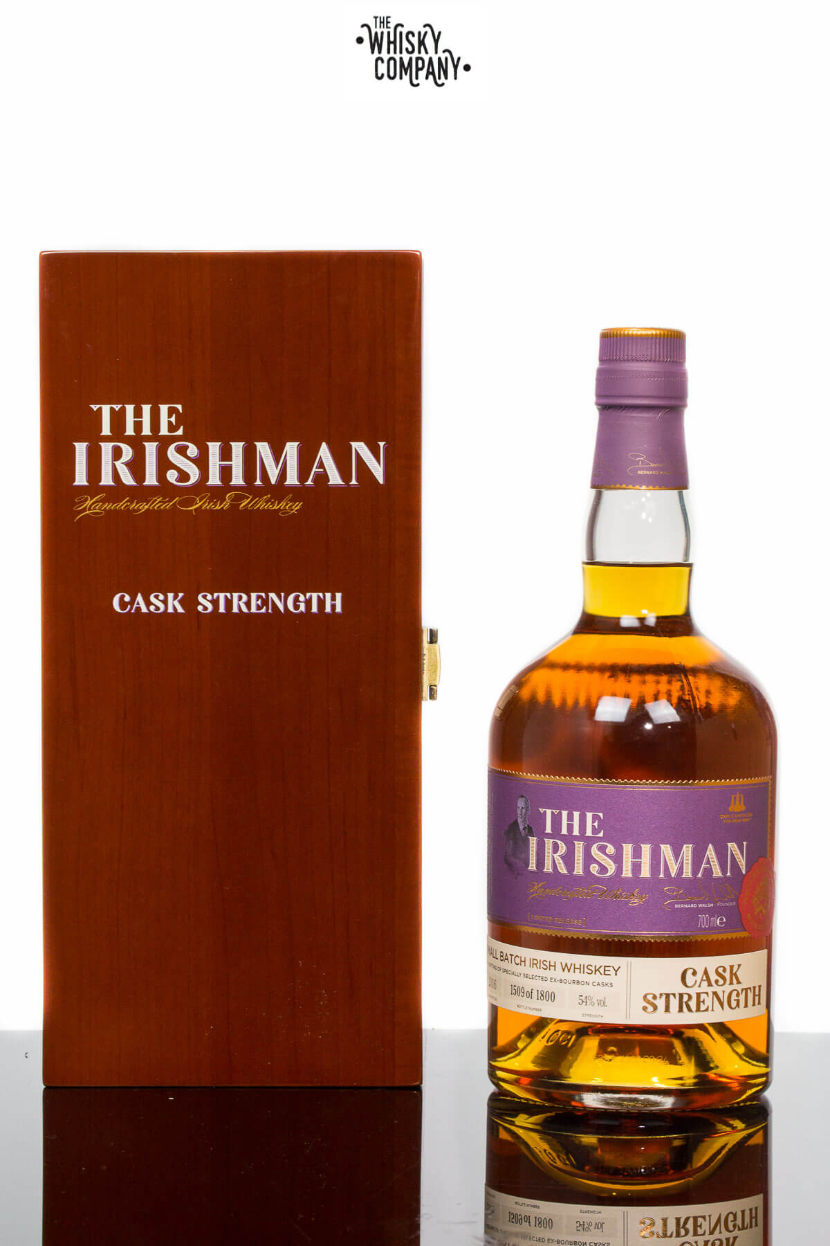 The 2016 Irishman Cask Strength Whiskey