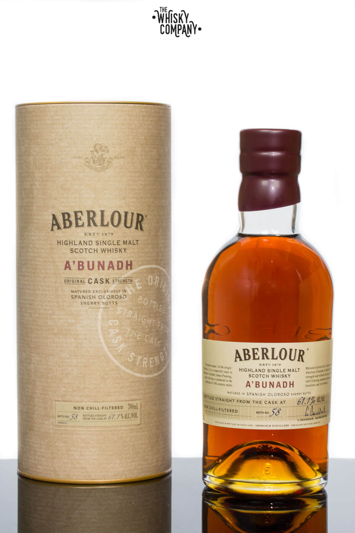 Aberlour A'Bunadh Highland Single Malt Scotch Whisky (700ml)