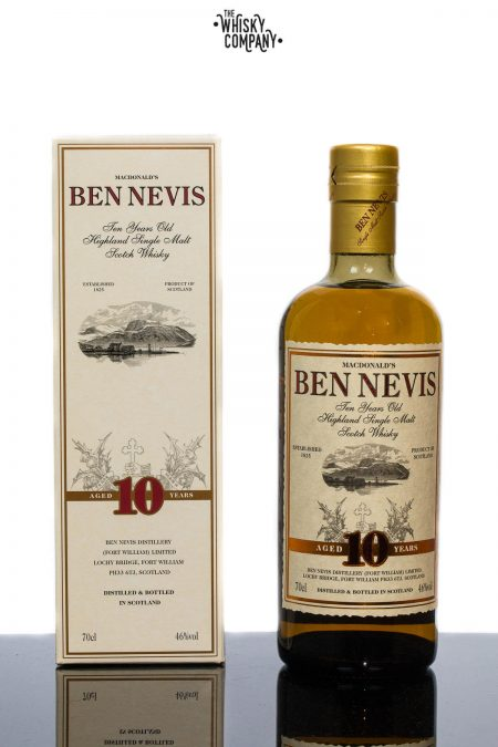 Ben Nevis 10 Years Old Highland Single Malt Scotch Whisky (700ml)