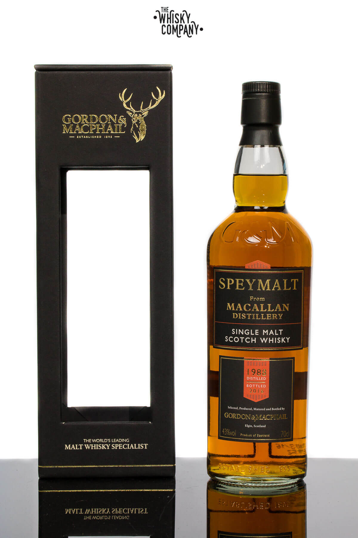 Gordon & MacPhail Macallan 1988 Speyside Single Malt Scotch Whisky (700ml)