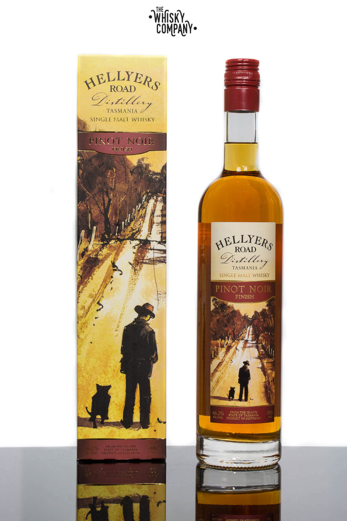 Hellyers Road Pinot Noir Finish Australian Single Malt Whisky (700ml)