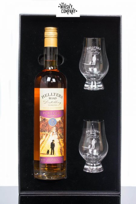 Hellyers Road Port Cask Matured Aged 10 Years Australian Single Malt Whisky (700ml)