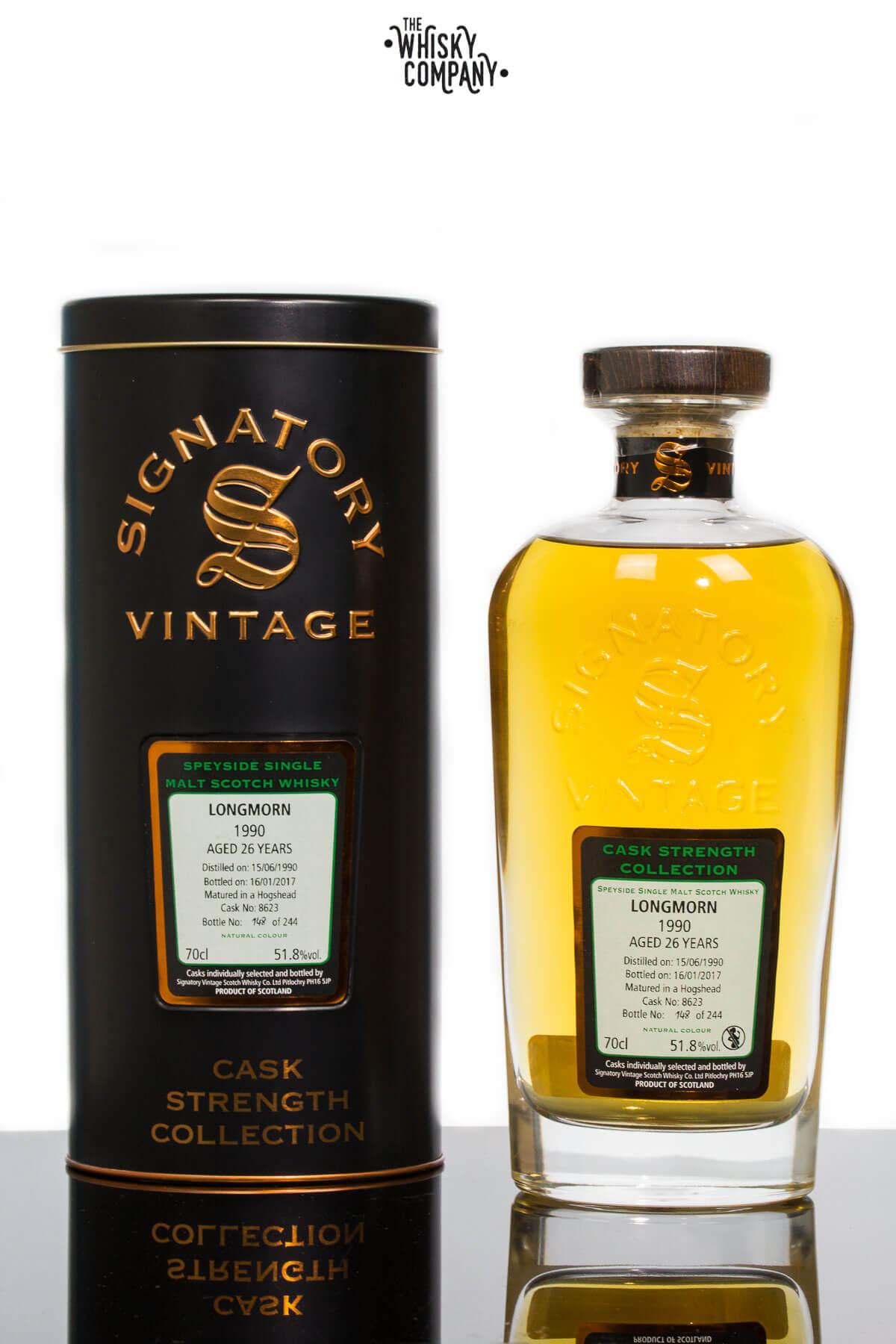 Longmorn 1990 Aged 26 Years - Signatory Vintage (700ml)