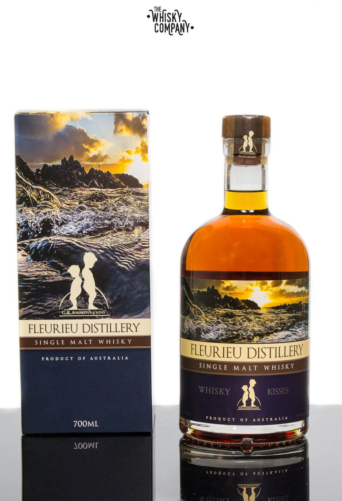Fleurieu Distillery Whisky Kisses Limited Release Single Malt Whisky (700ml)