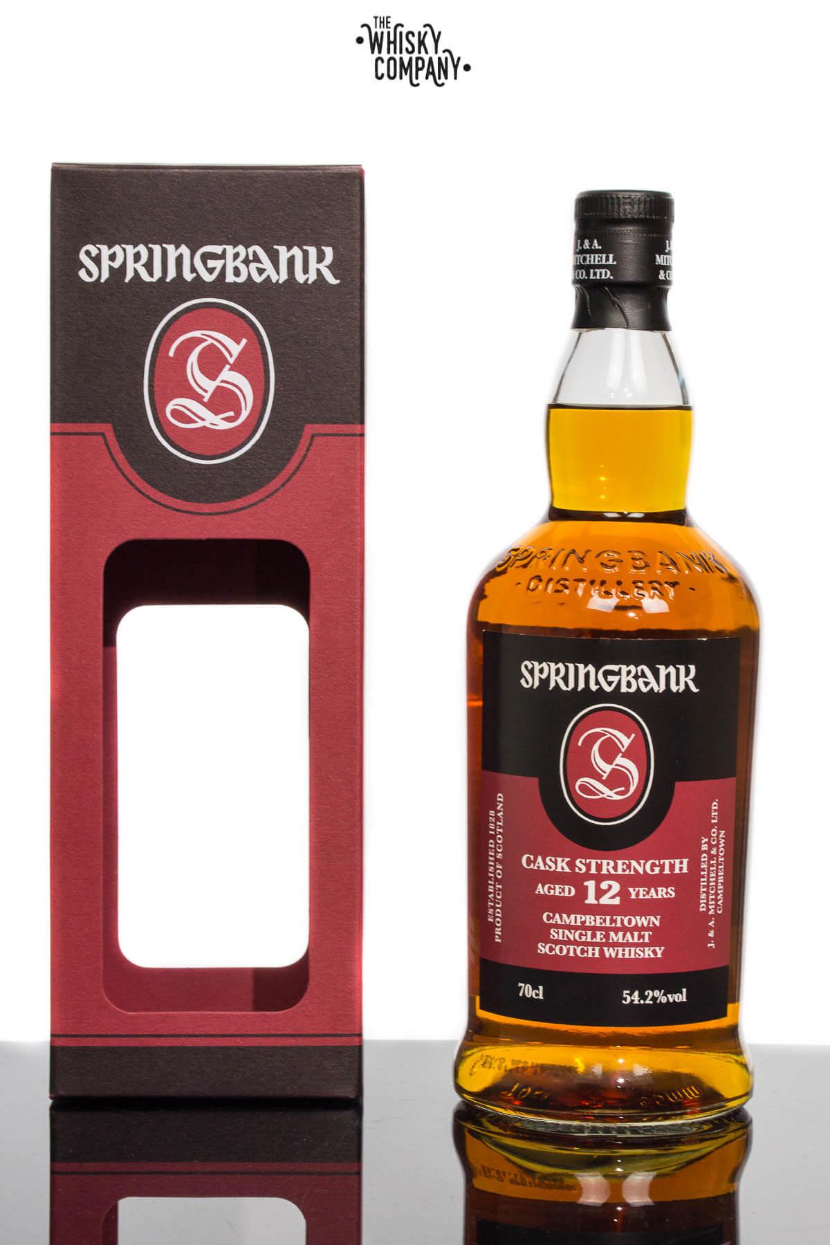 Springbank 12 Years Old Cask Strength Batch 14 Campbeltown Single Malt Scotch Whisky (700ml)