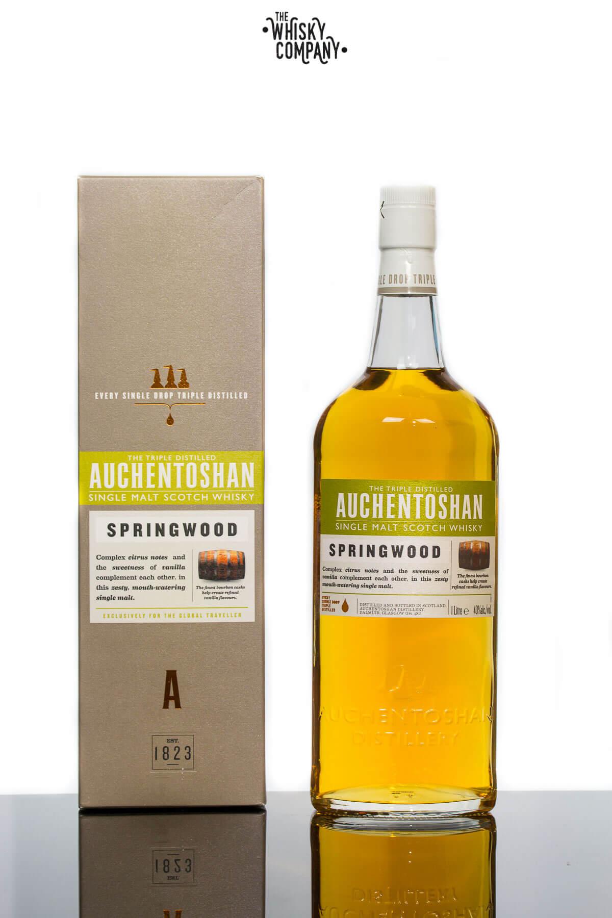 Auchentoshan Springwood Single Malt Scotch Whisky 1000ml