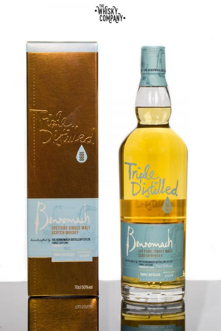 Benromach Triple Distilled Speyside Single Malt Scotch Whisky (700ml)