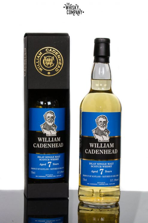 Islay Aged 7 Years Single Malt Scotch Whisky - Cadenhead's (700ml)