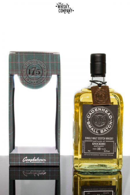 Cadenhead 2006 Knockdhu Aged 10 Years Single Malt Scotch Whisky 700ml