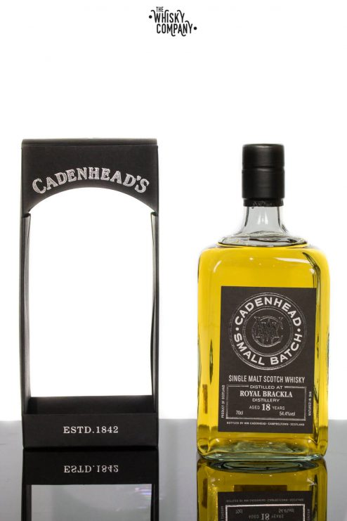 Royal Brackla 1997 Aged 18 Years Single Malt Scotch Whisky - Cadenhead's (700ml)