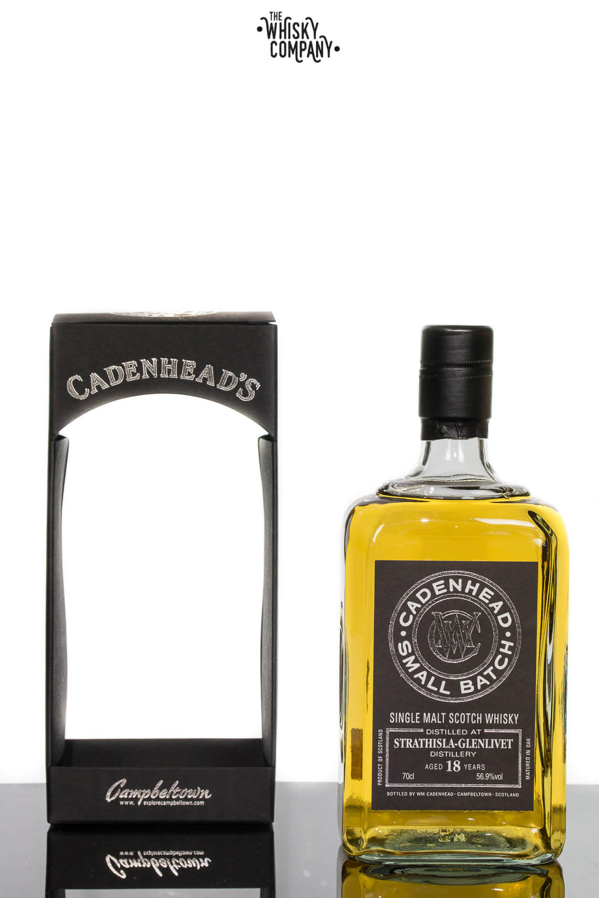 Cadenhead 1997 Strathisla-Glenlivet Aged 18 Years Single Malt Scotch Whisky 700ml