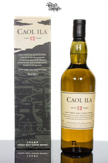 Caol Ila Aged 12 Years Islay Single Malt Scotch Whisky (700ml)