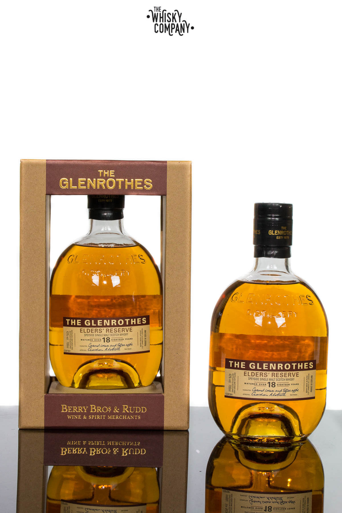 Glenrothes Elders Reserve 18 Year Old Single Malt Scotch Whisky (700ml)