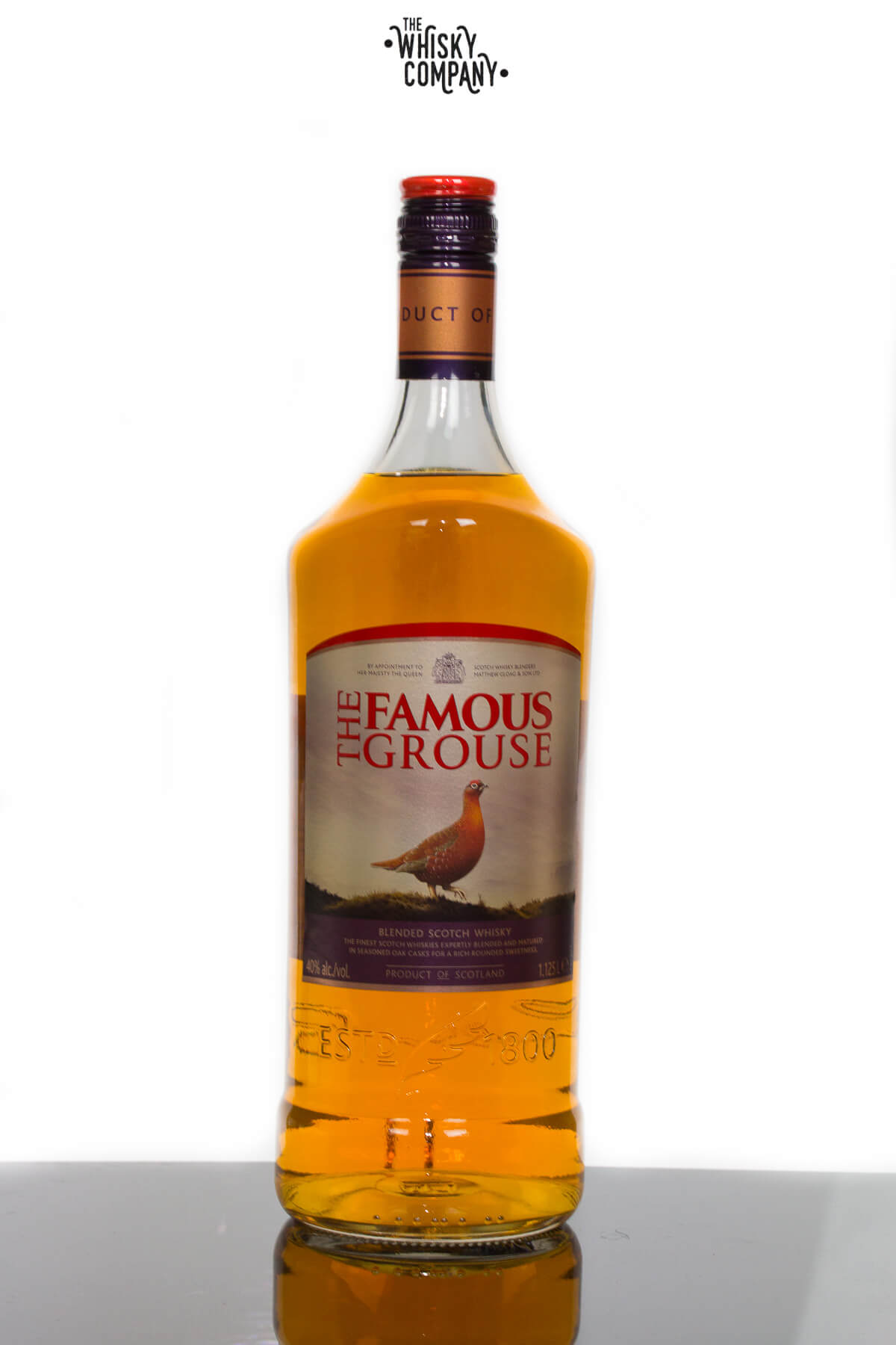 The Famous Grouse Blended Scotch Malt Whisky 1.125 Litre Bottle