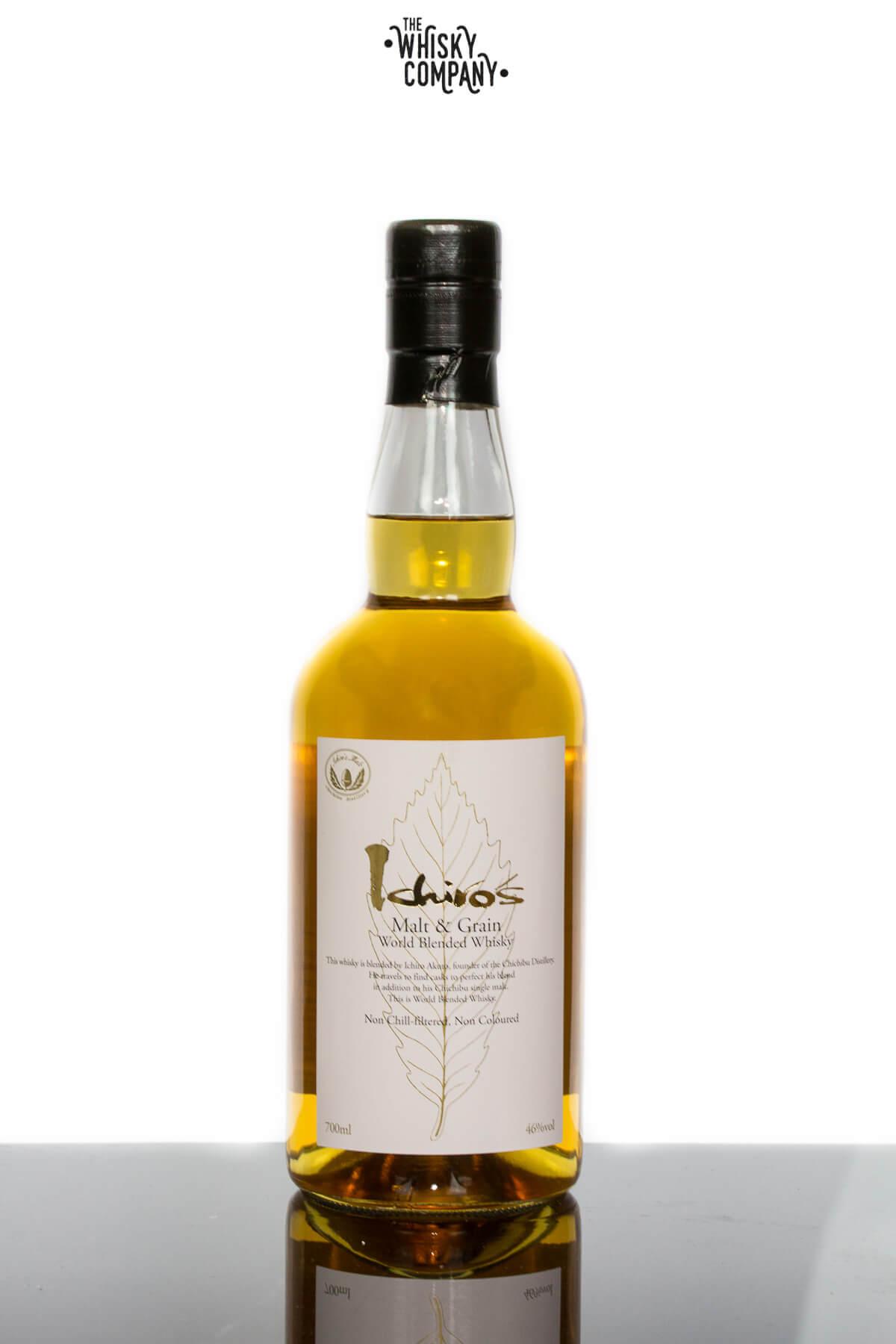 Ichiro's Malt & Grain Blended Japanese Whisky (700ml)