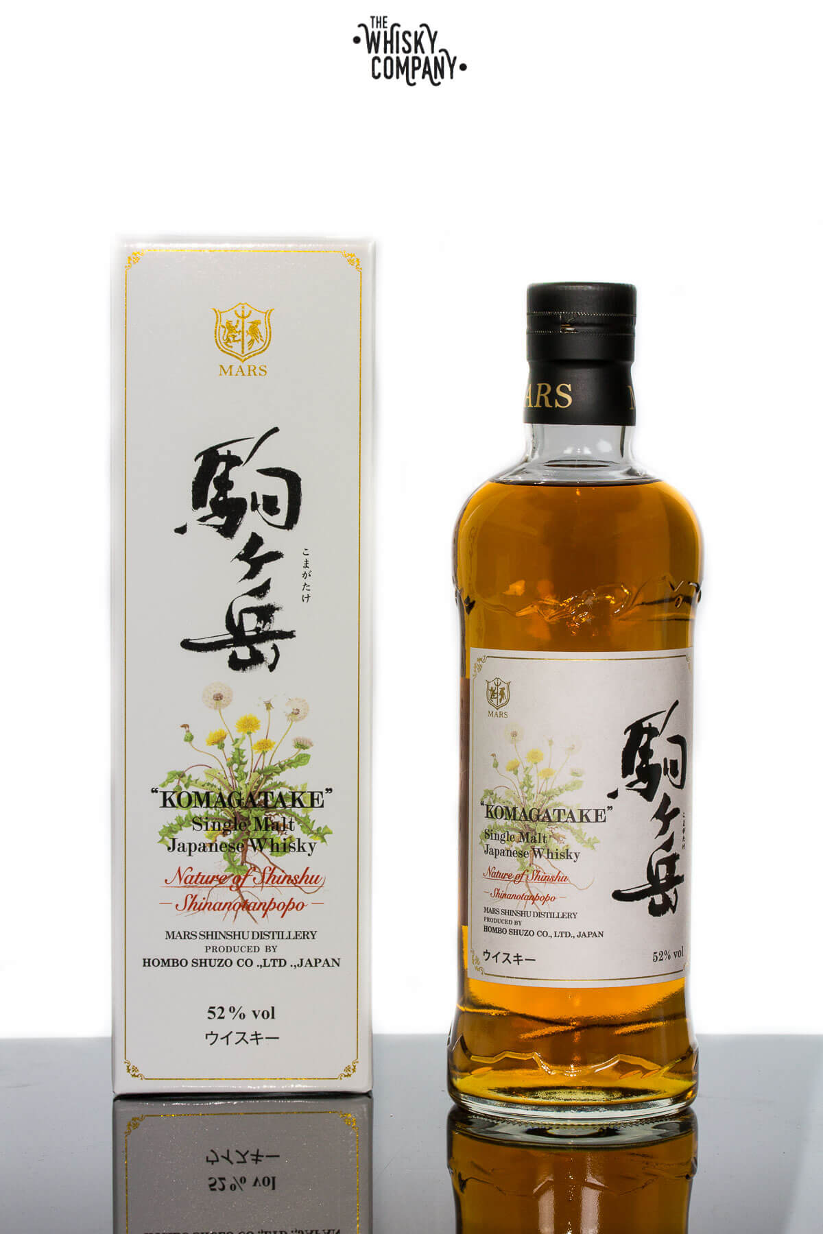 Mars Komagatake Shinanotanpopo Japanese Whisky 700ml