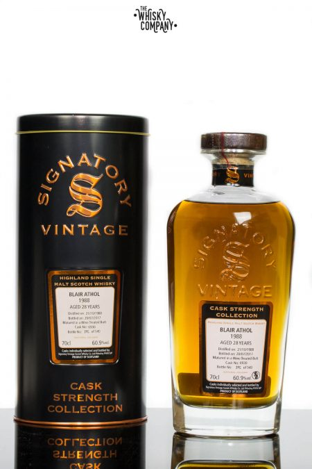 Blair Athol 1988 Aged 28 Years Single Malt Scotch Whisky - Signatory Vintage (700ml)