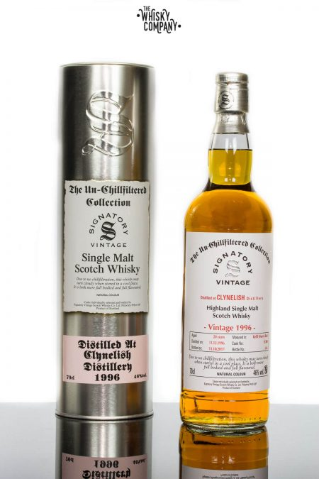 Clynelish 1996 Aged 20 Years Single Malt Scotch Whisky - Signatory Vintage (700ml)