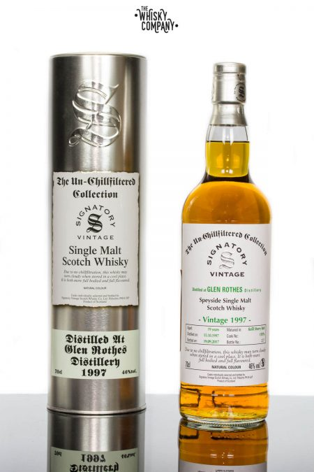 Glen Rothes 1997 Aged 19 Years Single Malt Scotch Whisky - Signatory Vintage (700ml)