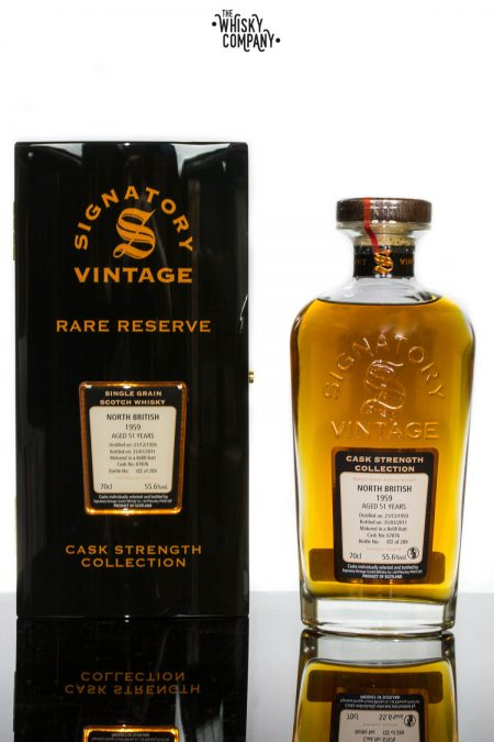North British 1959 Aged 51 Years Single Grain - Signatory Vintage