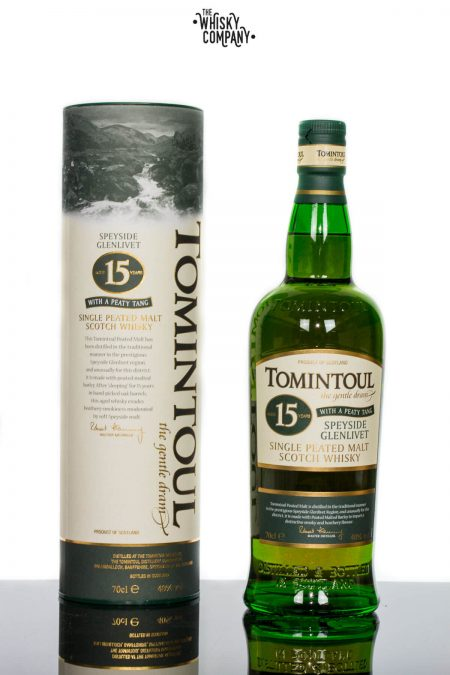 Tomintoul Peaty Tang Aged 15 Years Speyside Single Malt Scotch Whisky (700ml)