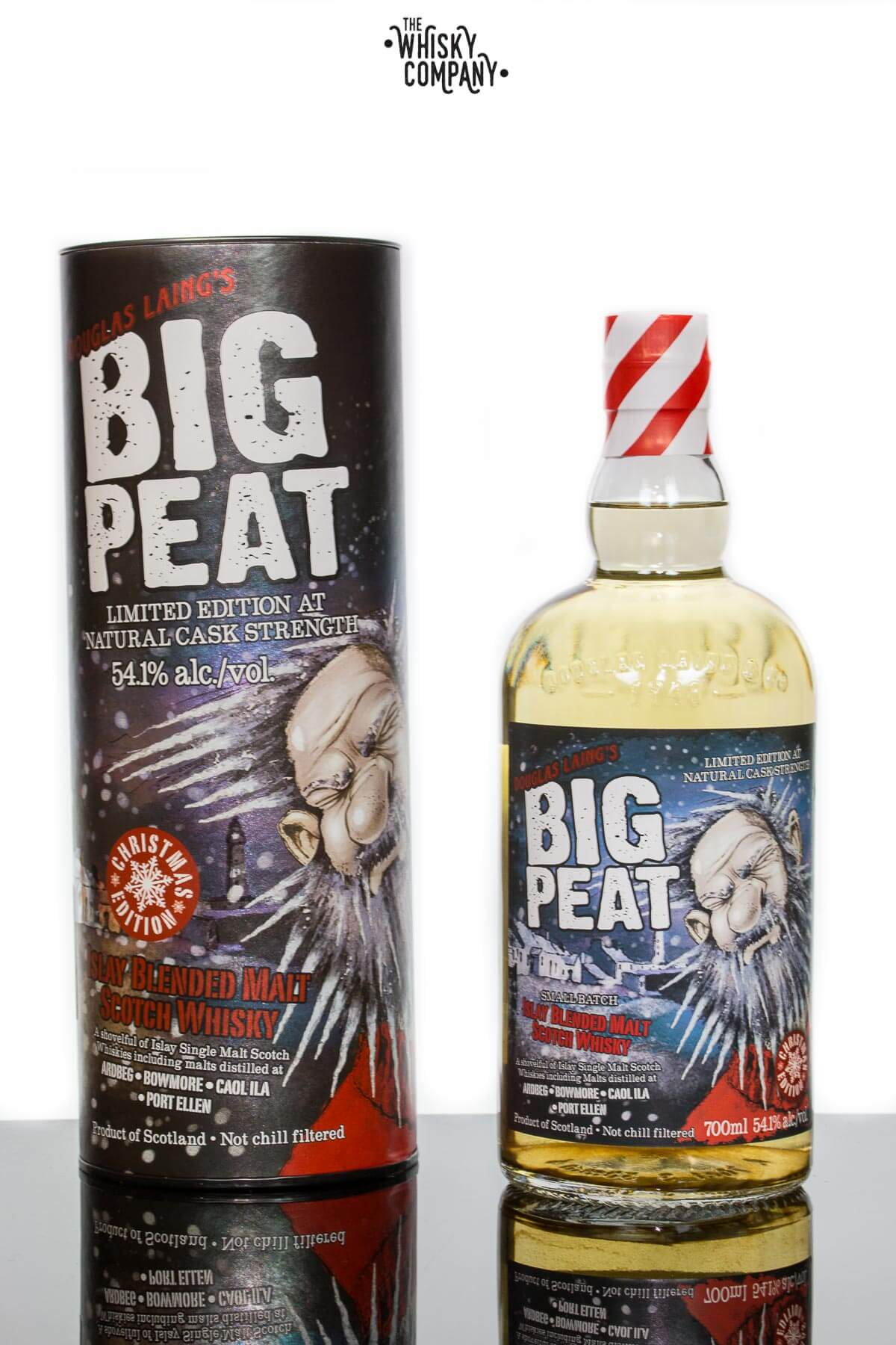 Douglas Laing's Big Peat 2017 Cask Strength Small Batch Release Islay Blended Malt Scotch Whisky (700ml)