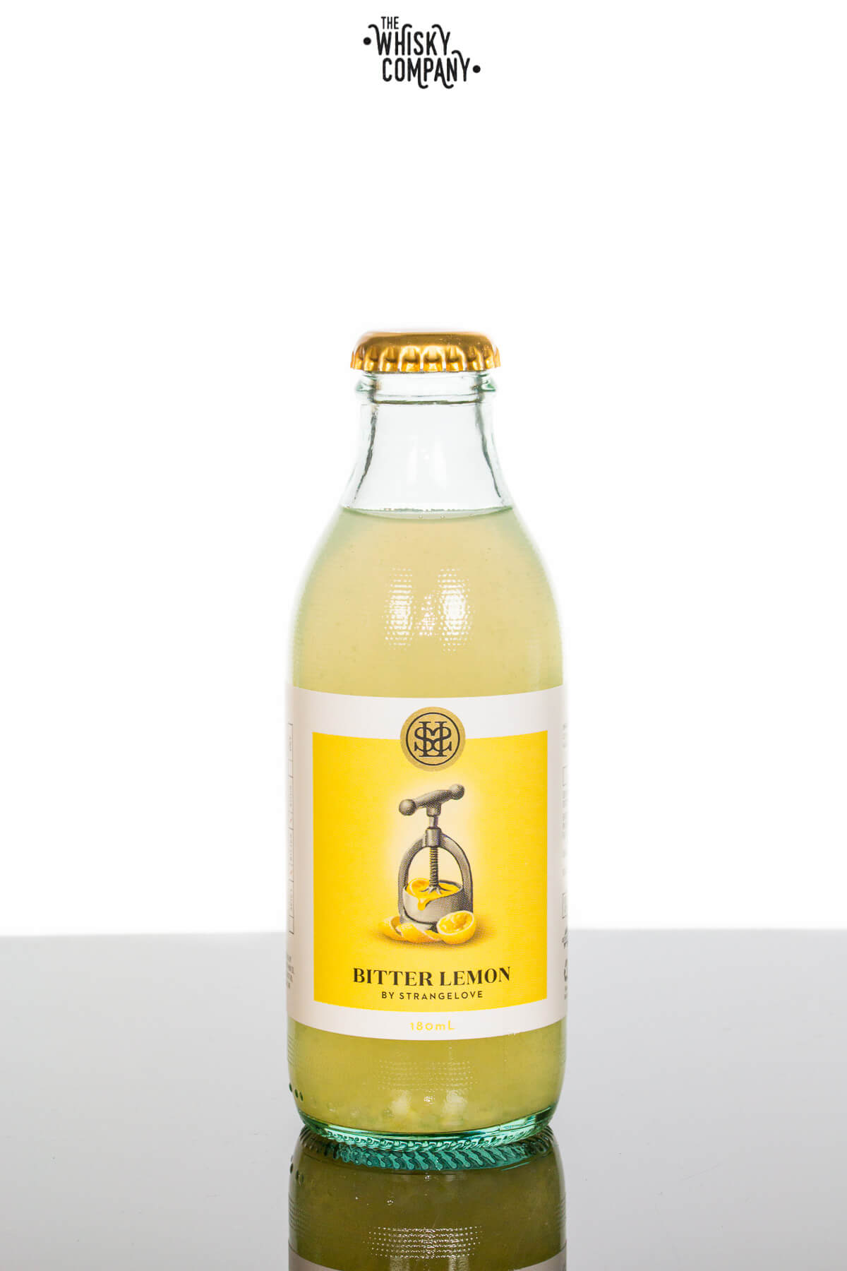 StrangeLove Bitter Lemon Tonic Water (180ml)