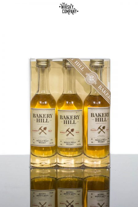 Bakery Hill Australian Single Malt Whisky Miniature Sample Range (3 x 50ml)