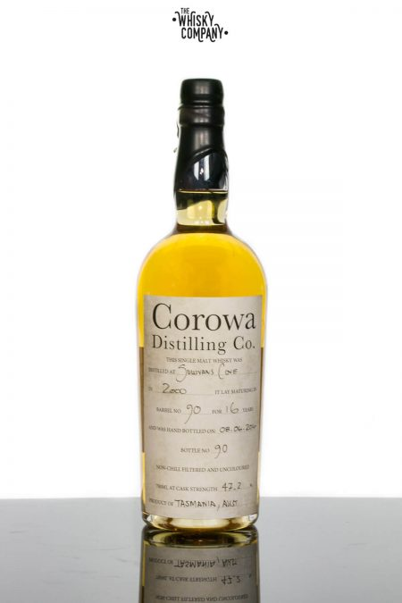Sullivans Cove (Barrel 90 Bottle 90) Aged 16 Years Bottled by Corowa Distillery Tasmanian Single Malt Whisky (700ml)