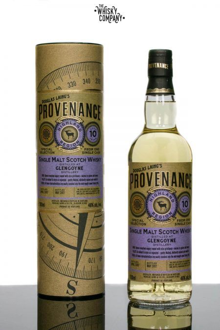 Douglas Laing Provenance 2007 Glengoyne Aged 10 Years Single Cask Single Malt Scotch Whisky (700ml)