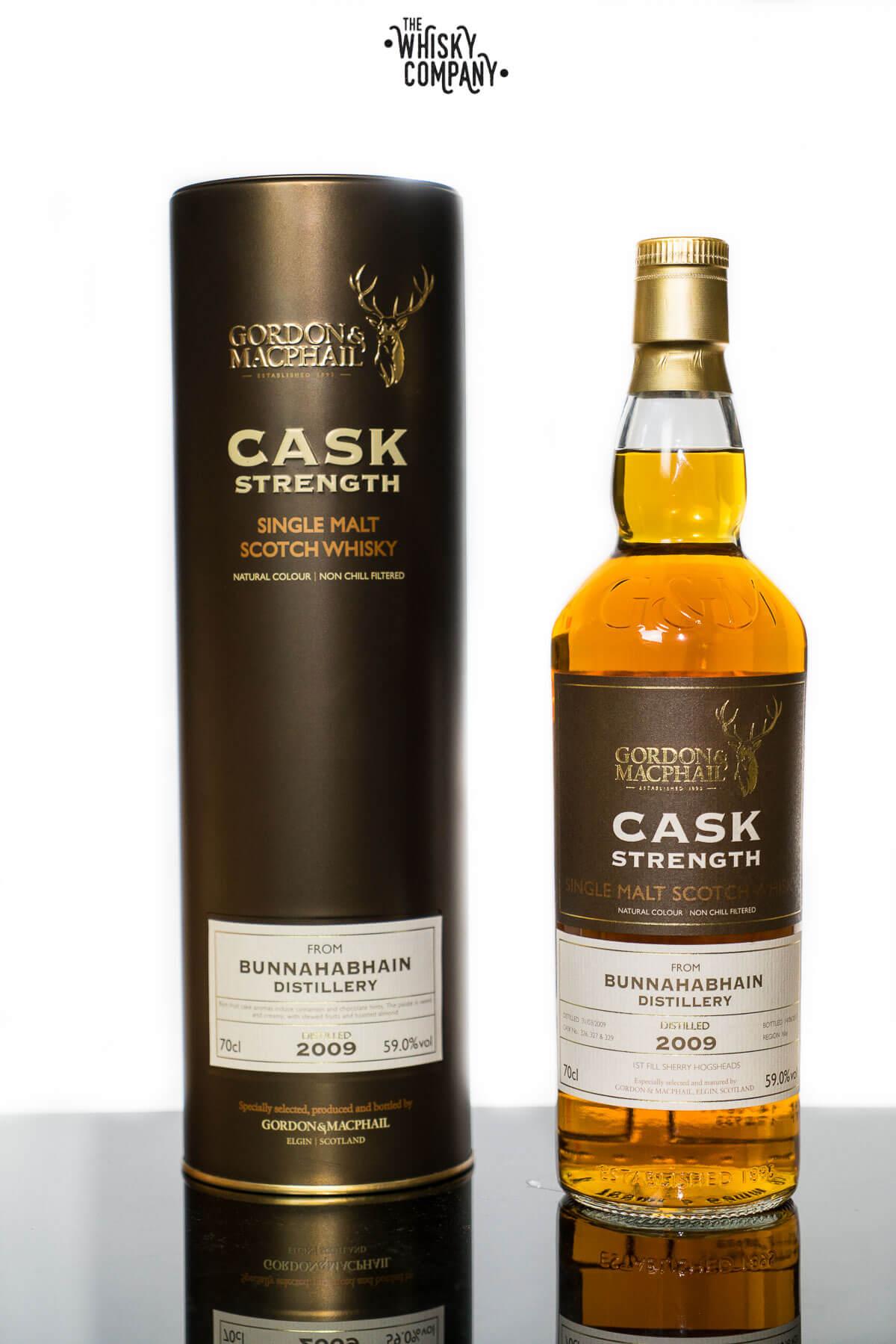 Bunnahabhain 8 Years Old 2009 Cask Strength Islay Single Malt Scotch Whisky Gordon & MacPhail (700ml)