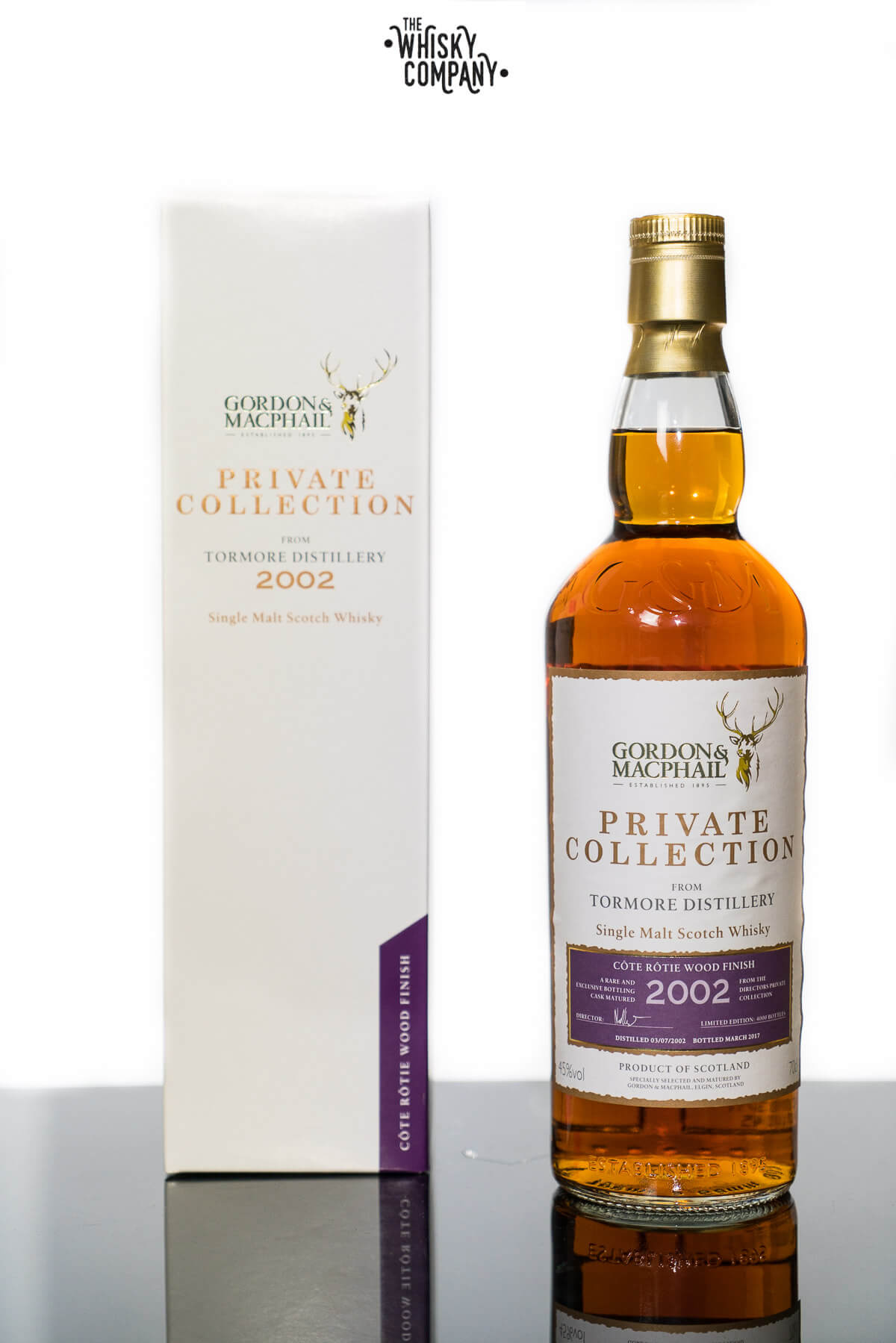 Tormore 14 Years Old 2002 Côte-Rôtie Wood Finish Single Malt Scotch Whisky Gordon & MacPhail (700ml)