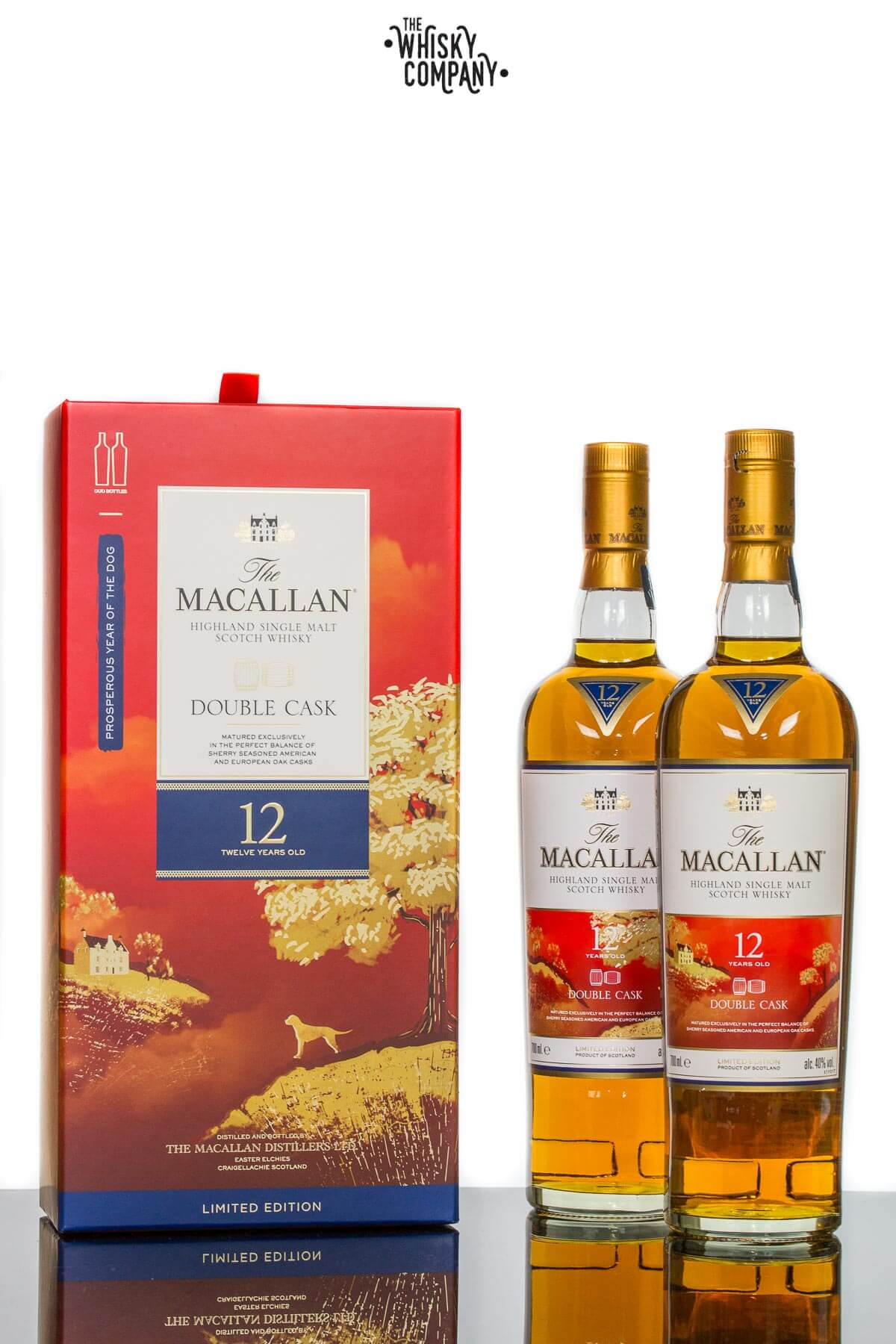 The Macallan 12 Years Old Year Of The Dog Single Malt Scotch Whisky