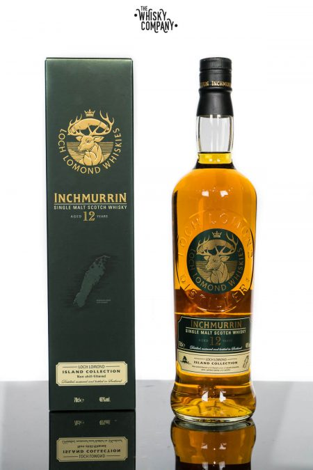 Inchmurrin Aged 12 Years Highland Single Malt Scotch Whisky (700ml)