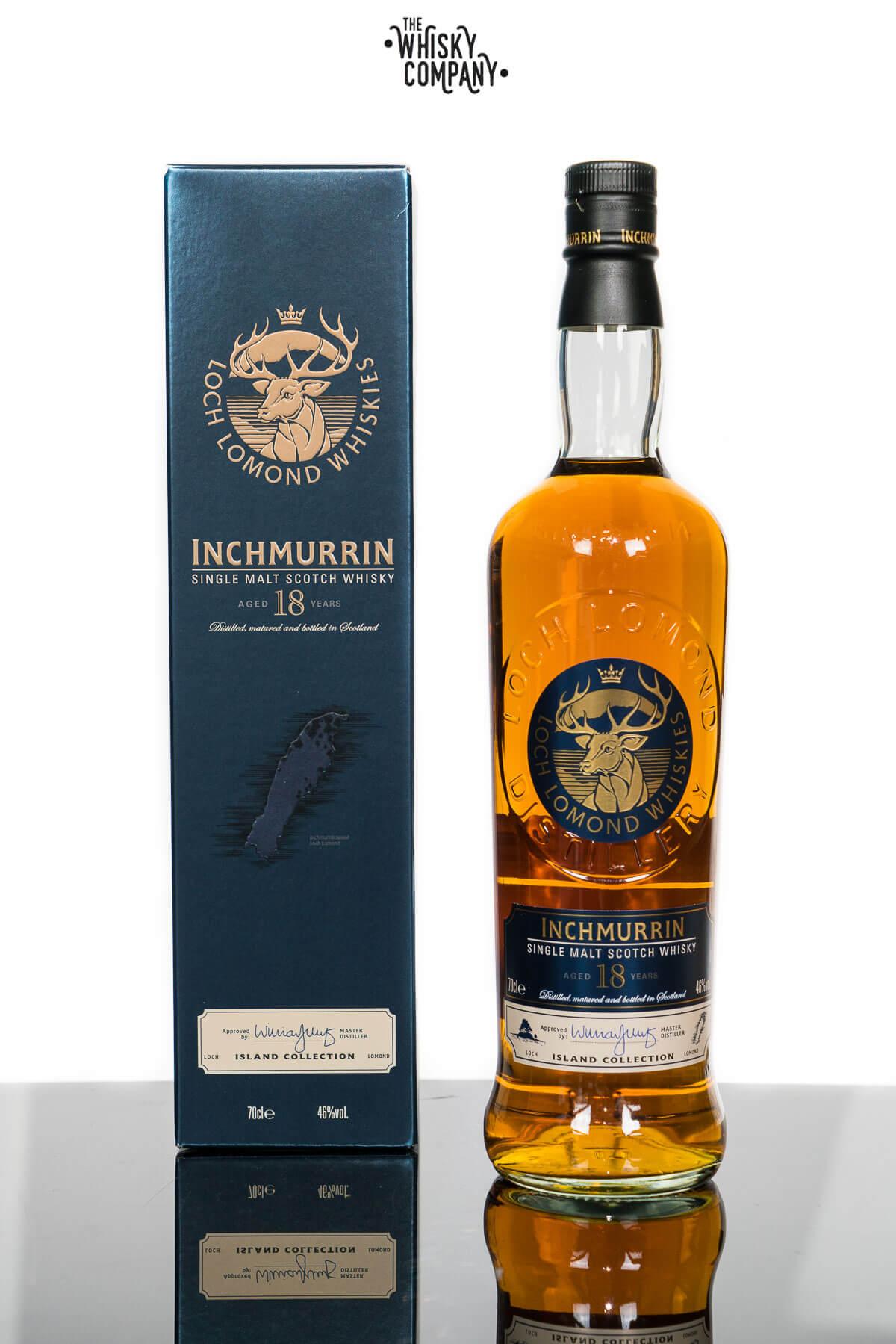 Inchmurrin Aged 18 Years Highland Single Malt Scotch Whisky (700ml)