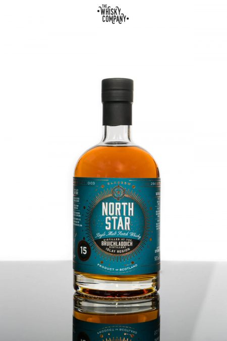 North Star Bruichladdich 15 Year Old Single Malt Scotch Whisky (700ml)