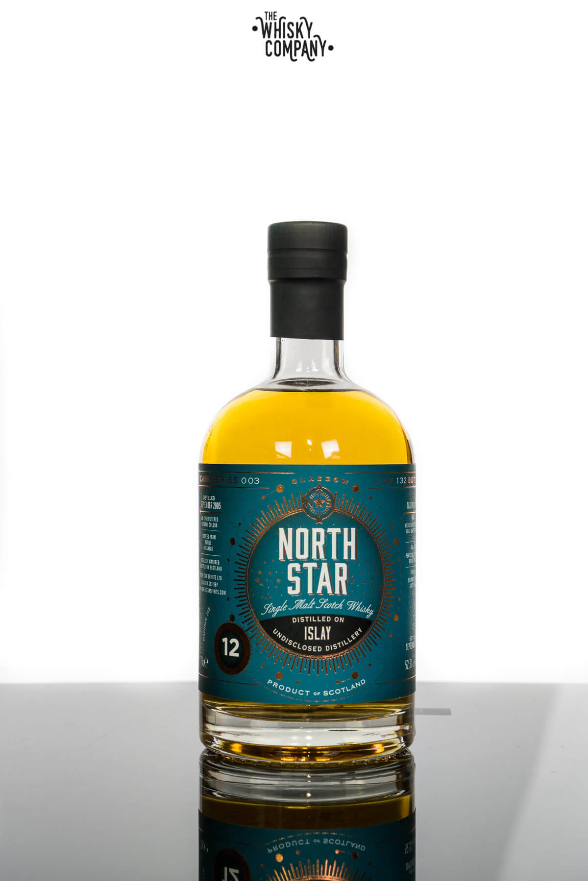 North Star Islay Aged 12 Years Single Malt Scotch Whisky (700ml)