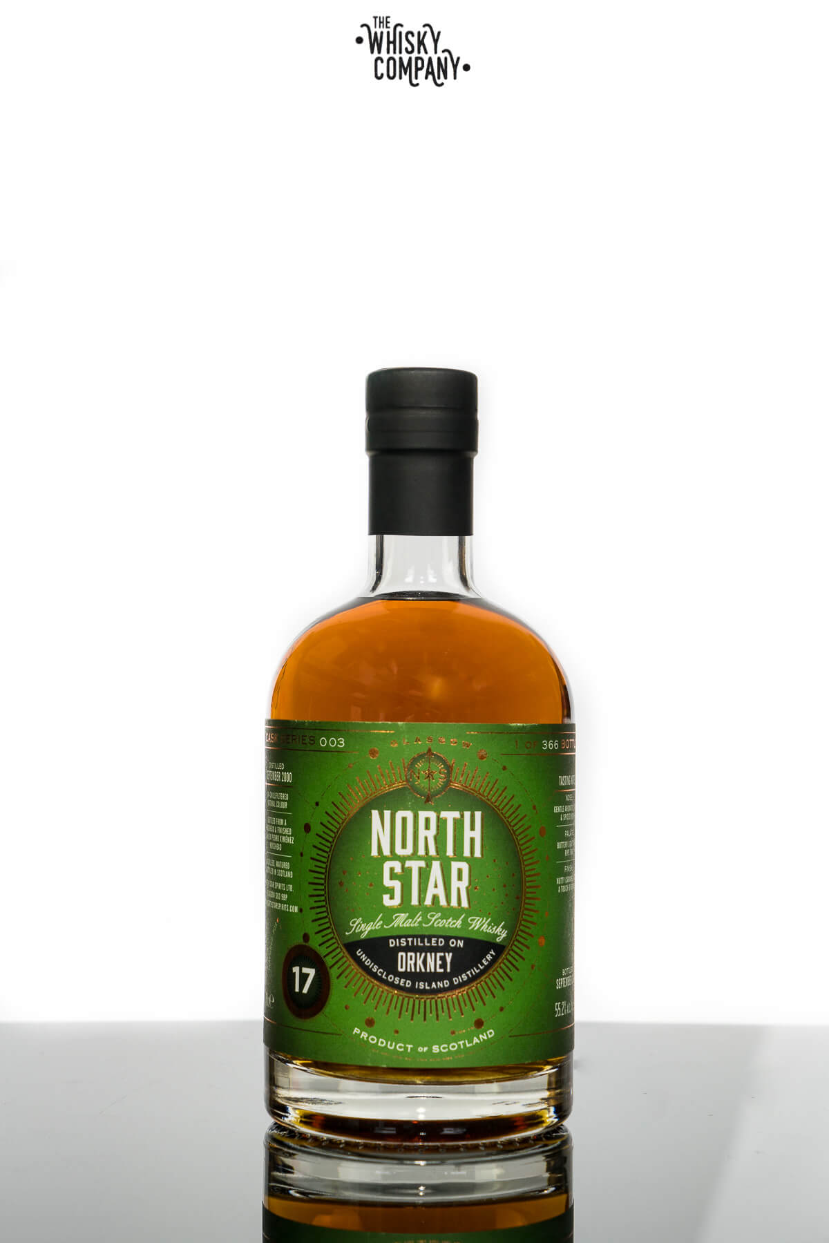 North Star Orkney Aged 17 Years Single Malt Scotch Whisky (700ml)