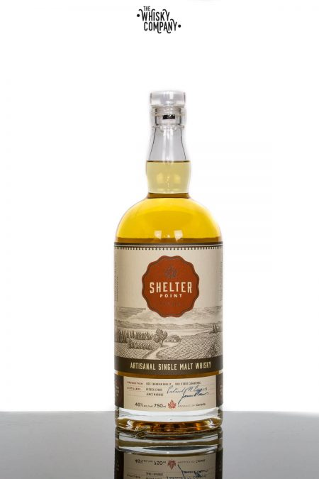 Shelter Point Artisanal Canadian Single Malt Whisky (750ml)