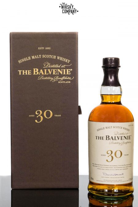 The Balvenie Aged 30 Years Speyside Single Malt Scotch Whisky (700ml)
